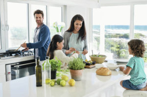 Tips to avoid bringing job stress home to the family