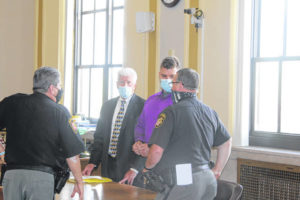 Thompson pleads not guilty