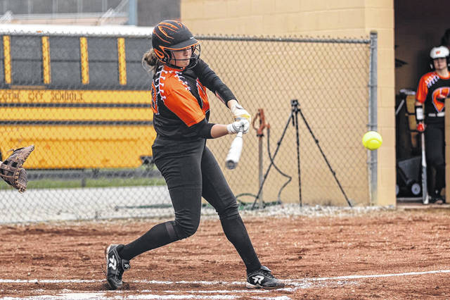 West's Kate Rollins registered two home runs during the Senators' 10-0 non-league win over Green on Tuesday. <em>(File Photo)</em>