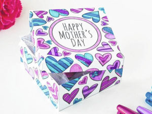 Main Street selling Mother's Day Boxes