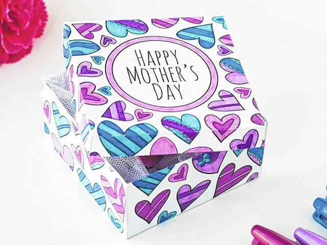 Main Street Portsmouth is selling their own personal Mother's Day Box for the price of $75.00 this year.
