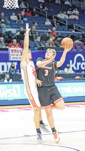 New Boston's Tanner Voiers (3) earned Division IV third-team all-Ohio honors from the Ohio Prep Sports Writers Association.