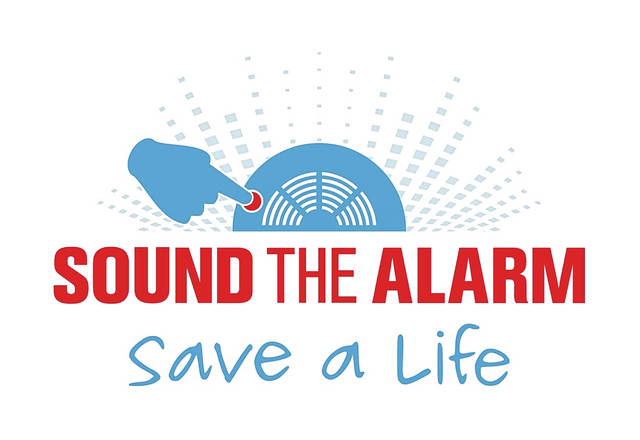 The Sound the Alarm program is a program through the Red Cross to install smoke alarms in homes where they are needed.