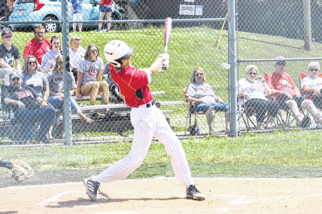 South Webster sophomore Robert Martin went 2-of-3 with a tied for team-high two RBI and two runs scored in the Jeeps' 11-0 win over Miller in a Division IV sectional semifinal.
