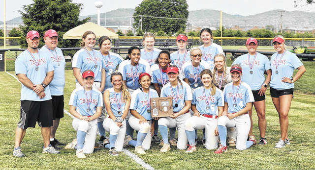 The Portsmouth Lady Trojans are Division III district runners-up after their loss to Westfall in a D3 district title game on Saturday, May 22 at Unioto High School.