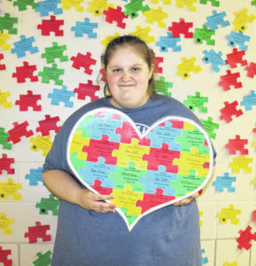 West High School senior raises money for autism