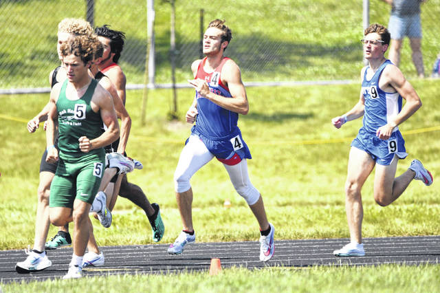 Northwest senior Josh Shope placed fourth in the boys 800m run as part of Saturday's Division II state track and field meet.