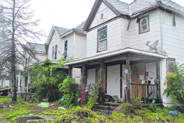 Determinations for when to demolish homes beyond repair like these often comes down to costs said Code Enforcement Officer Andy Gedeon. Increased that budget to $150,000 would allow for more demolitions to take place.