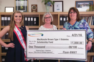 First Two MacKenzie Brown T1D Scholarships Awarded