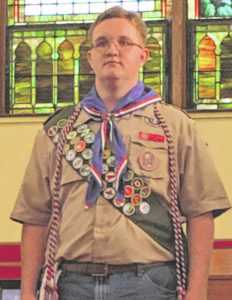 Crabtree makes Eagle Scout
