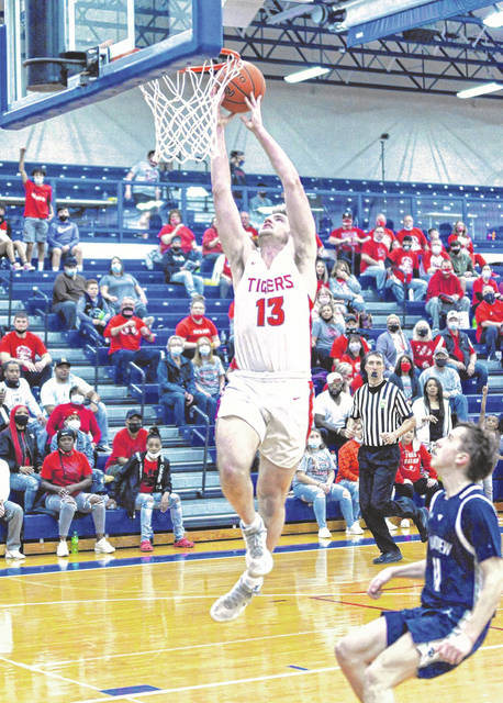 For the second consecutive season, New Boston's Kyle Sexton (13) captured Division IV first-team all-Ohio honors from the Ohio Prep Sports Writers Association. Sexton was also named the Division IV boys Player of the Year.