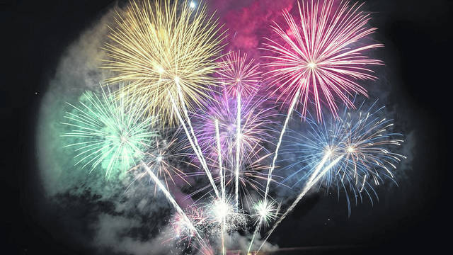 New Boston set to have the largest display of fireworks that they have ever had on July 4th.