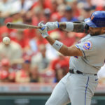 Mets slam Reds in combined one-hitter