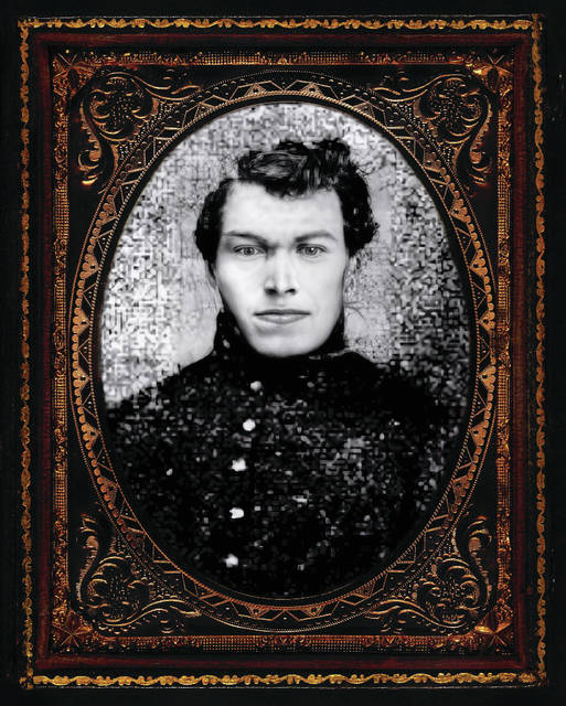 """Cpl. David Evans: Born on April 19th of 1837 on the Crygarn farm in Wales, David was a fierce soldier in the 56th Ohio Volunteer infantry; he was a man of """"fine physical development"""" as recalled by younger brother Captain John A. Evans."""