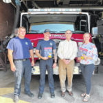 Local State Farm agent donates fire prevention kits to Portsmouth Fire Department