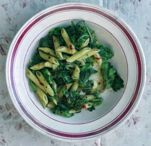 Veggies and pasta are an ideal pairing