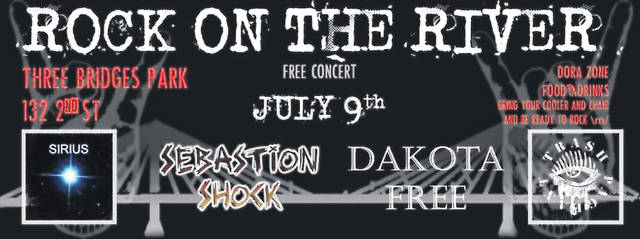 Rock on the River concert series is a sister series of Final Friday. This is a celebration of our area's rock artists.