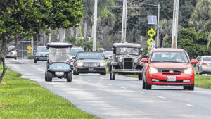 New Boston Council questions golf carts on their main roads