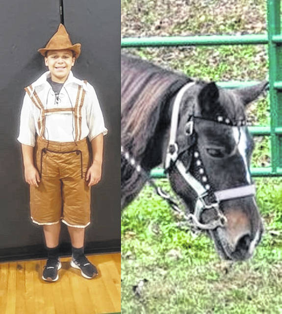 The Hansel Character is being portrayed by Jay Eichenlaub. Chocolate the Horse will be carrying the prince in the play, Chocolate is owned by Jo Anna Donini and Wild Wes Stables.