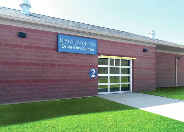 The King's Daughters Drive-Thru Center, located at 812 Spring Lane, will provide patients with the opportunity to have laboratory testing performed without leaving their vehicles.