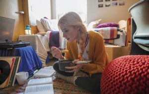 Tips for dorm room and campus safety