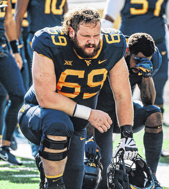 Blaine Scott, a former East High School standout two-way lineman, is a former offensive lineman for West Virginia University who transferred to the University of Northern Colorado this past spring.