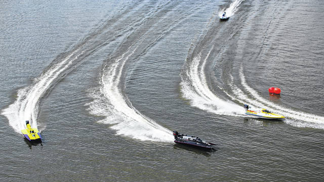 Boat races and fireworks have been postponed for RIver Days due to the amount of rain and the predicted rise of the Ohio River.