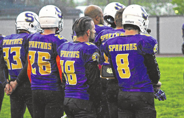 The Port City Spartans (11-0) will host the Columbus Gladiators (9-2) in the Eastern Conference championship game of the BCFL this Saturday (8/20) at Spartan Municipal Stadium.