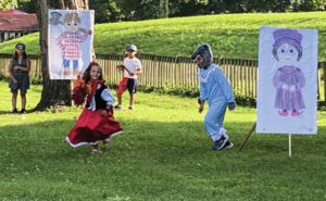 Storybook, Tales, and Treasures were a big hit at Mound Park