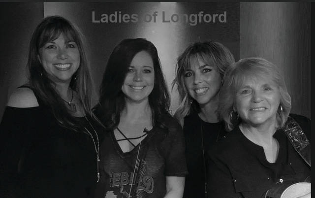The Ladies of Longford will take the stage Friday at 8 p.m. featuring local music legend and Portsmouth Music Hall of Famer Hilda Doyle.