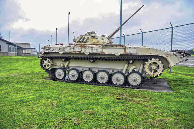 During a regularly scheduled Scioto County Commissioners meeting Aug. 26, Scioto County Commissioners signed a contract with the United States of America to accept the tank as a gift to Scioto County.