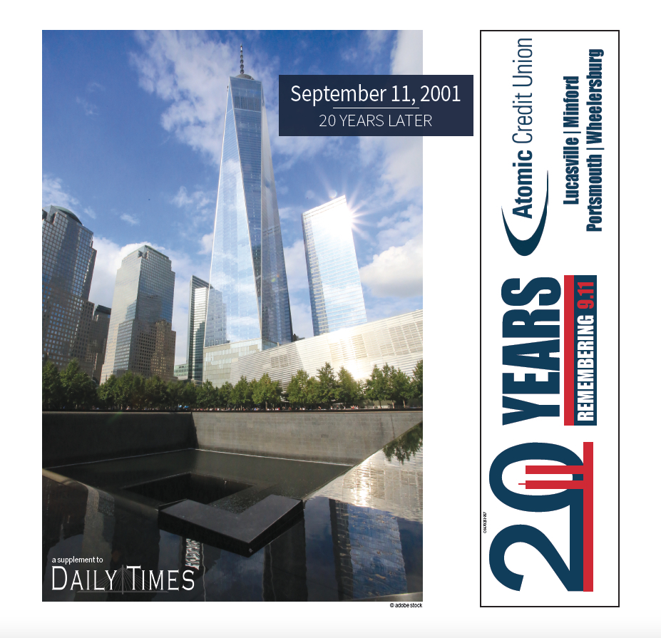 Sept. 11th – 20 Years Later