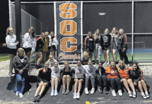 Lady Pirates claim another SOC tennis title