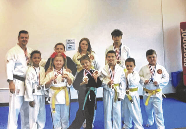 Students at Cooper's Karate in West Portsmouth competed in last month's Akju Nationals and the 53rd Annual Ohio State Karate, Ju-Jitsu, Iaido Championship hosted in Chillicothe.
