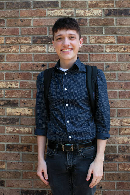 Jacob Lynn, Sophomore and potential Drum Major at Shawnee State University
