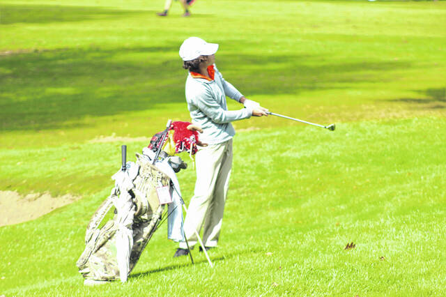Wheelersburg freshman Owen Mault was the low scorer for the Southern Ohio Conference Division II champion Wheelersburg Pirates boys golf team.