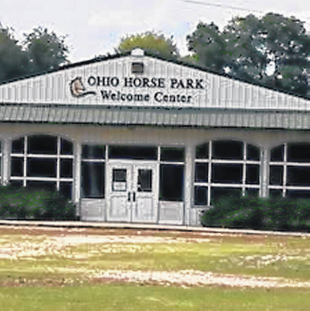 Part of Ohio Horse Park in Franklin Furnace.