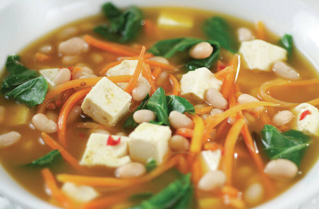 Soup is hydrating, and the ingredients included in the recipe may be able to do everything from tame coughs to reduce mucus to boost the immune system.