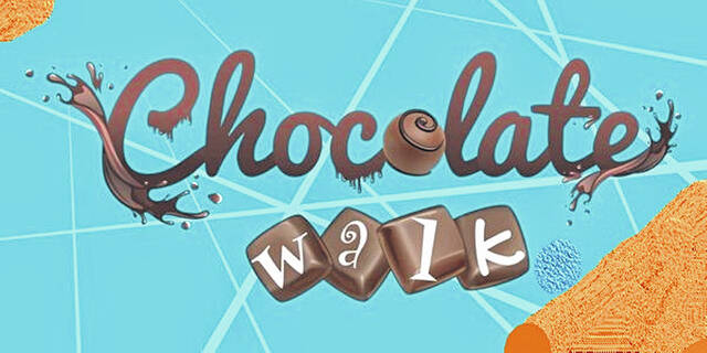 This year's Chocolate Walk will be a little different as it will be Chocolate Walk Goes Spooky.