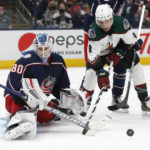 Blue Jackets rout Coyotes in opener
