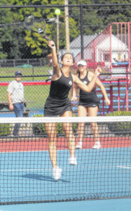 8 from Scioto compete in district tennis