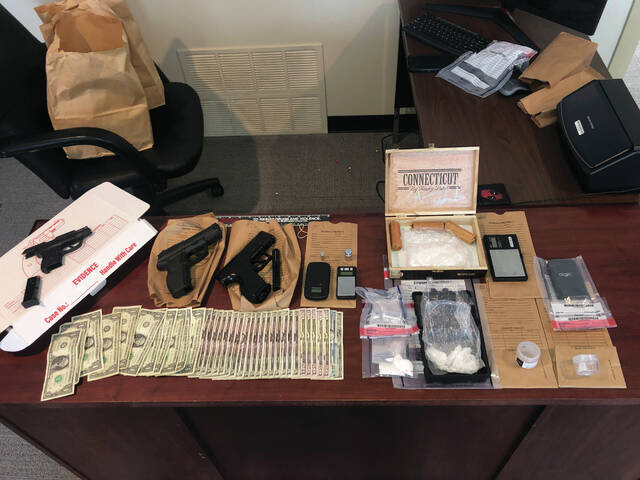 The investigation and search revealed approximately 150 grams of a rocky substance that is believed to be Methamphetamine. Detectives also located approximately 10 grams of an unknown powdery substance, a Ruger LCP .380 semi-automatic handgun, digital scales and other evidence of drug trafficking.