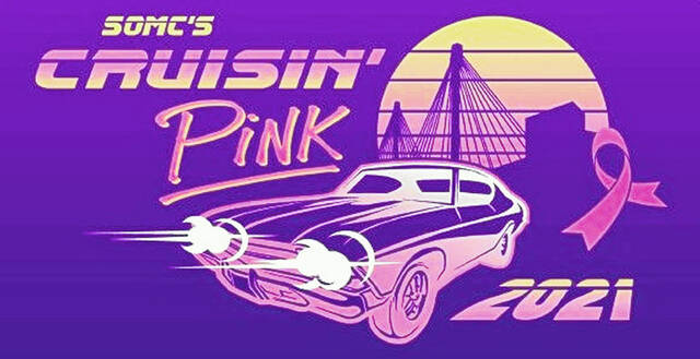 """Don't miss out on SOMC 's """"Cruisin' Pink"""" Thursday!"""