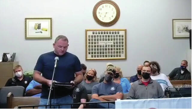 Brian Hicks, President of the Portsmouth Firefighters Union, spoke regarding his concern with low staff and the stress it is putting the department under.