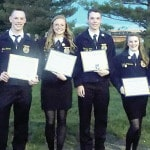 Five receive state degrees at convention