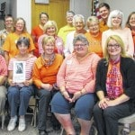 Dem Women wear orange for gun violence awareness