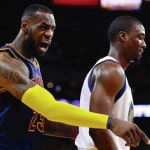 LeBron challenges Cleveland fans to be loud on Tuesday