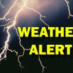 Hazardous weather alert issued
