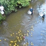 First Duck Race is fun family event