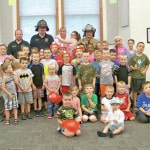 Young readers get fire safety lesson